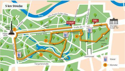 5 km Strecke